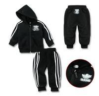 Комплект одежды для девочек Shippiing Fashion Kid's Sport Suits Hot Brand girl coats boy autumn outerwear spring coats+pants