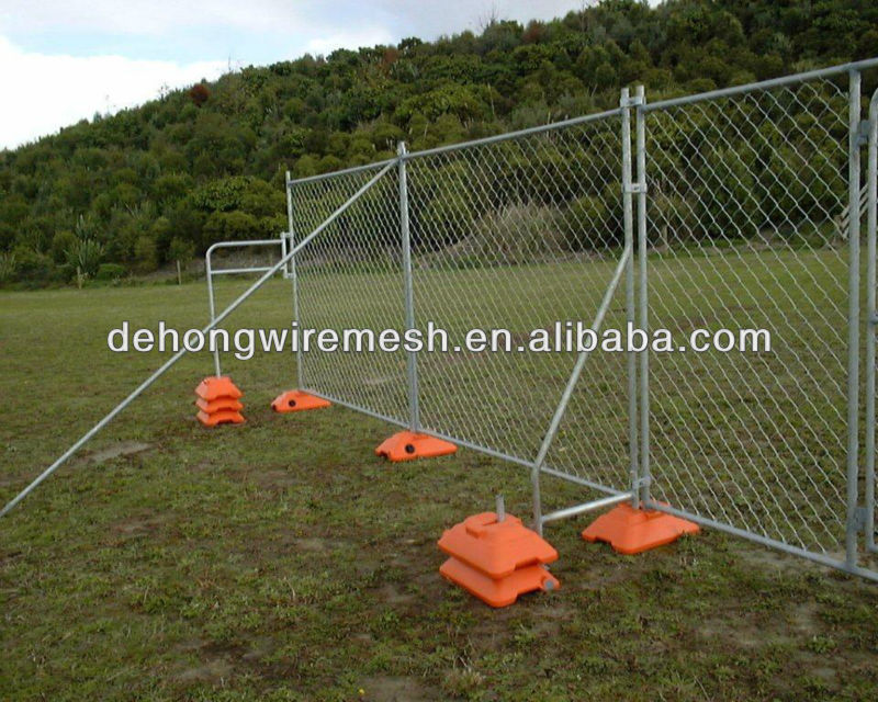 Temporary Fence Panel Stand/Portable Welded Galvanized Steel Fencing(Fatory&Exporting)