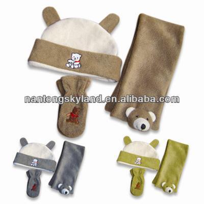Nouveau design à la mode pour enfants d'hiver polaire gants chauds écharpe chapeau ensembleCommerce de gros, Grossiste, Fabrication, Fabricants, Fournisseurs, Exportateurs, im<em></em>portateurs, Produits, Débouchés commerciaux, Fournisseur, Fabricant, im<em></em>portateur, Approvisionnement