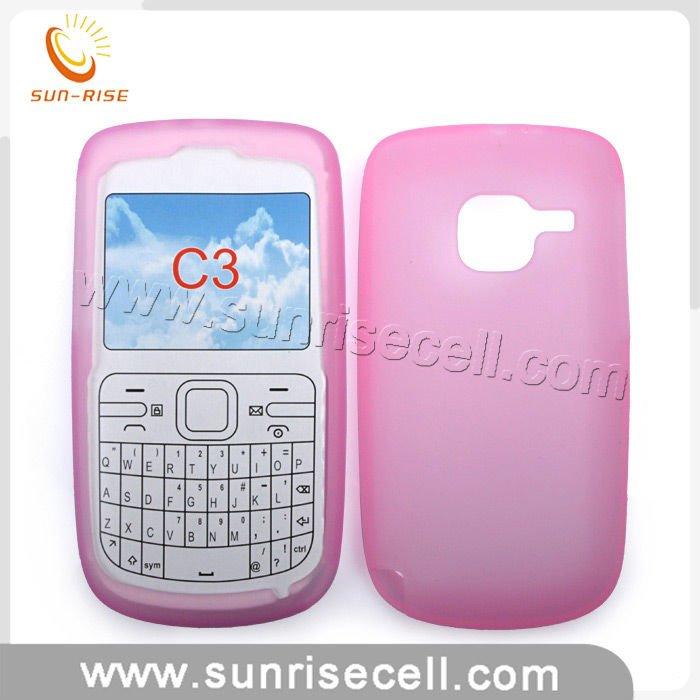 Silicon Nokia c3 For Mobile Phone Nokia c3
