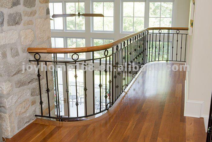 ... de hierro forjado barandilla de la escalera/pasamanos de la escalera