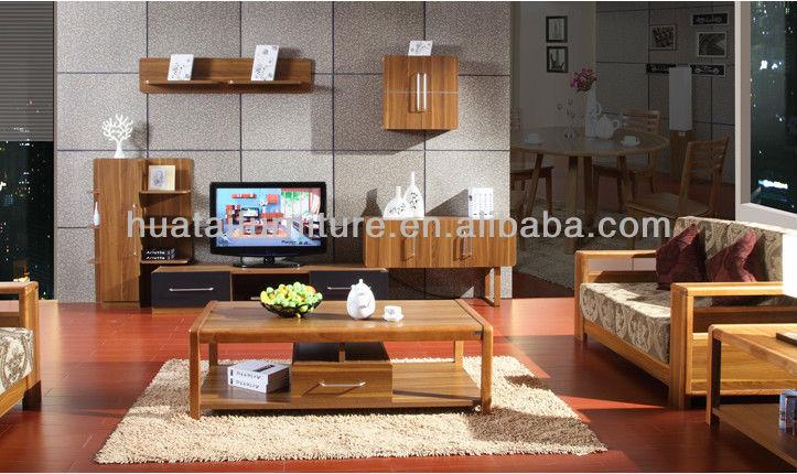 Canape En Bois Massif Photos : Salon tissu de meubles canap?, Meubles de salon nature bois massif