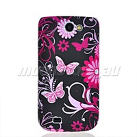Чехол для для мобильных телефонов FLORAL PATTERN SOFT GEL TPU SILICONE CASE COVER FOR SAMSUNG I8150 GALAXY W