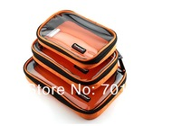 Fashion wholesale Brand Canvas   Cosmetic Bag  Gent 100% Canvas Hot sell