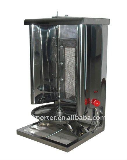 rotating grill machine