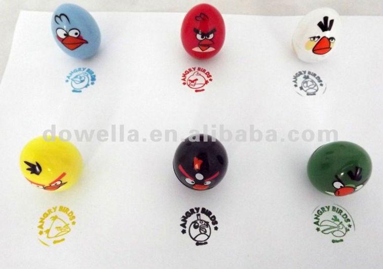 Lovely Forma de Brinquedo Selos, Selos Auto Tinta