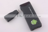 HDD - плеер New released! 1G RAM+4GB ROM Android4.0 IPTV, google tv, smart android box, allwinner A10 MK802+ MIC 7 Color In Stock