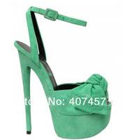 Туфли на высоком каблуке Brand bowtie