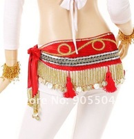 Женская одежда Belly Dance new style Hip Scarf, belly dance belt, mixed colors