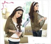 Женский свитер Korea Women Hollow knitted Sweater Shawl Shrug Jacket Cardigan Knitwear Coat 4 Colors