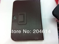 Чехол для планшета Litchi sign Leather Stand File cover case for Google Nexus 10, 50pcs/lot