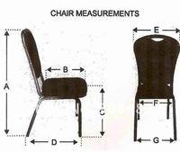 Накидка на стул ZD banquet pandex  A22
