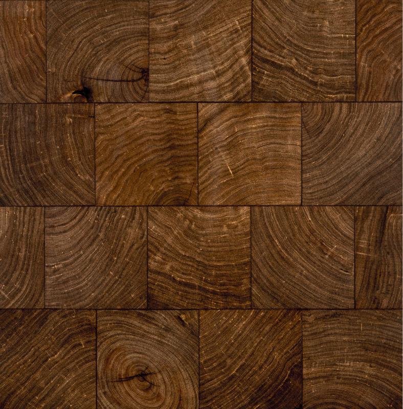 Mesquite End Grain Wood Flooring Blocks Antique Wood