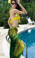 Женская туника для пляжа oneworld] LC40435 50