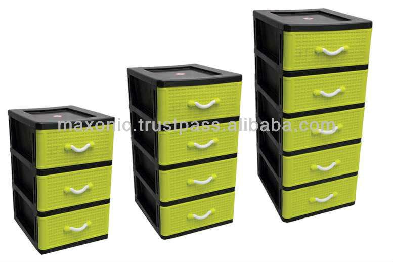 5 tier plastic drawers 1