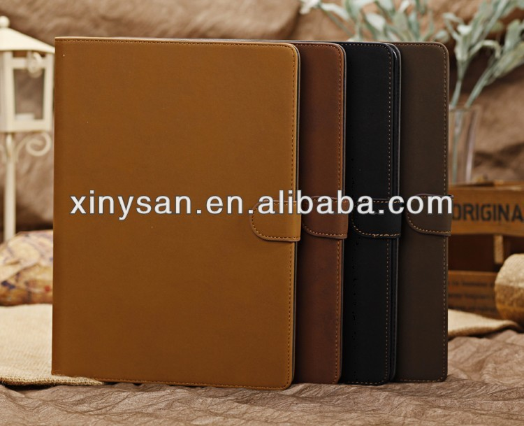 New High Quality Retro Leather Case for ipad air,Fashion Flip Leather Case for ipad air/ipad5