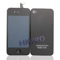 ЖК-дисплей для мобильных телефонов 1/11 Colors Touch Digitizer LCD Display Assembly+Back Housing For iPhone 4G BA020