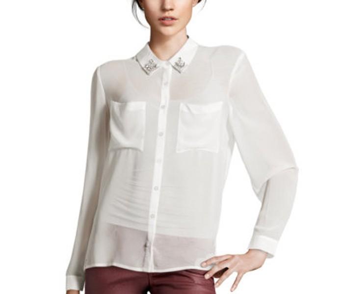 Блузка Из Прозрачного Шифона В Омске