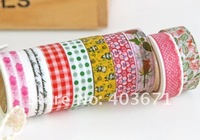 Канцелярская клейкая лента New lace and cartoon series washi masking Tape/ Decoration stationery Tape / Fashion