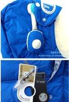 Пуховик для девочек 2012 3set /lot   Kids Children's cotton down jacket