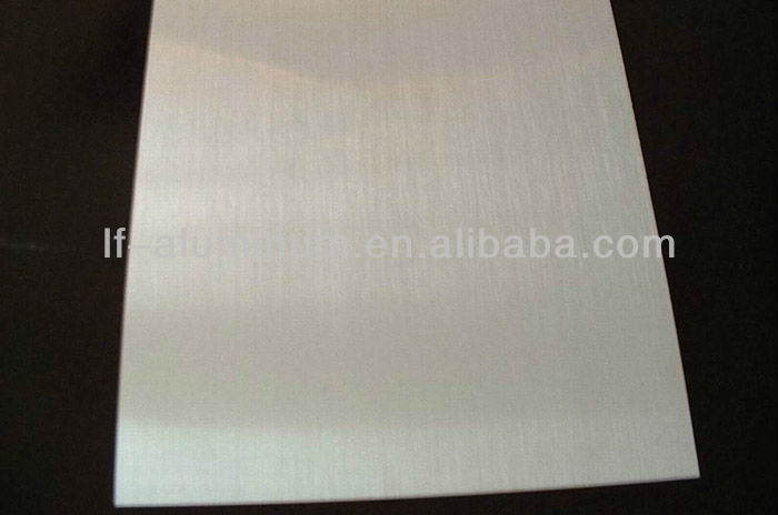 Polished textured aluminum sheet metal ceiling