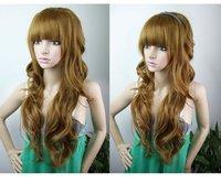 Шиньон New Stylish long curly hair wig