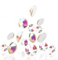 Стразы для одежды AAA 1bag/4 3D Crystal AB SS4