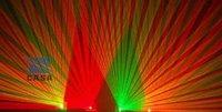 Профессиональное осветительное оборудование stage lighting 4 lens red+green dj light disco stage light laser show system