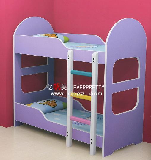 2014 pas cher violet en bois enfants de voiture lit lit de camion avec des es - Mobilier chambre pas cher ...