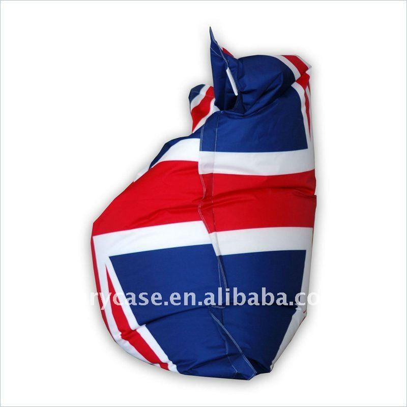 Ignifuge union jack pouf chaise anglais drapeau bean bag chaises de salon id de produit for Pouf drapeau anglais