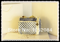 Сумка для путешествий с короткими ручками New Design Woven Glitter Stone Woven Denim Travel Totes Small Woman Shoulder Bag Cute Studded Handbag