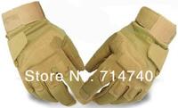Перчатки для езды 1pair Blackhawk Outdoor Full Finger Assault Soldier Gloves Tan Size L
