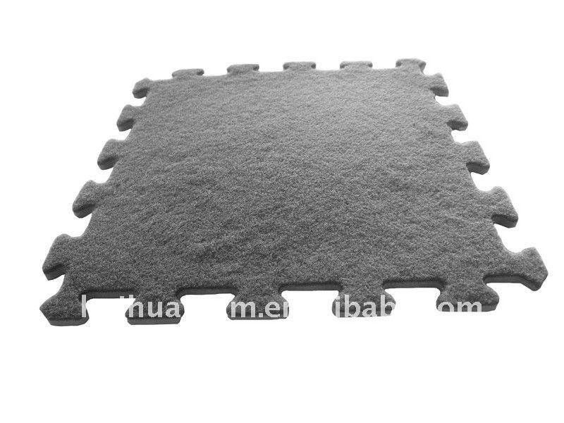 Eco Soft Plastic Carpet Mat Interlocking Ht-m039 - Buy Plastic ...