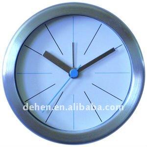 antique brass table clock