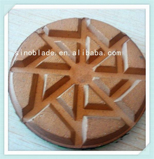 Diamond Concrete Grinding Tool floor polishing pad