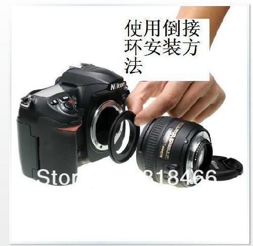 52mm Macro adaptador de montaje inverso F Anillo para FUJI FUJIFILM X Cuerpo de Cámara Close-up