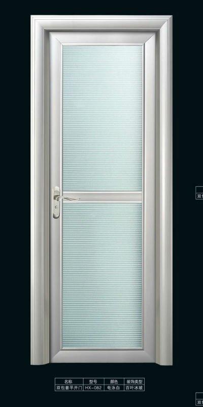 Aluminum Interior Toilet Door With Decoration Glass View Aluminum Interior Door Sendpro