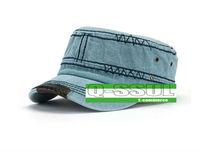 Женская одежда из кожи 2013 new leisure fashion hat sewing leather along flat top hat cowboy hat peaked cap