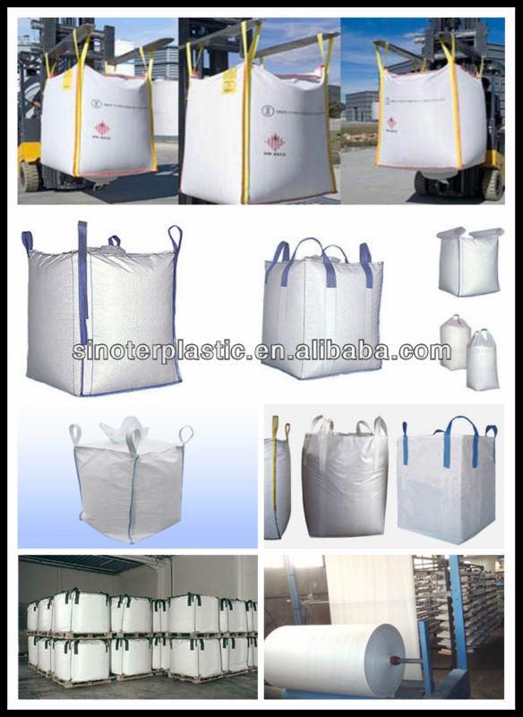 Popular and marketable FIBC pp woven jumbo bag, big bag, bulk bag jumbo bags manufacturers