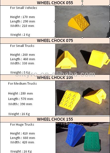 solid wheel chocks