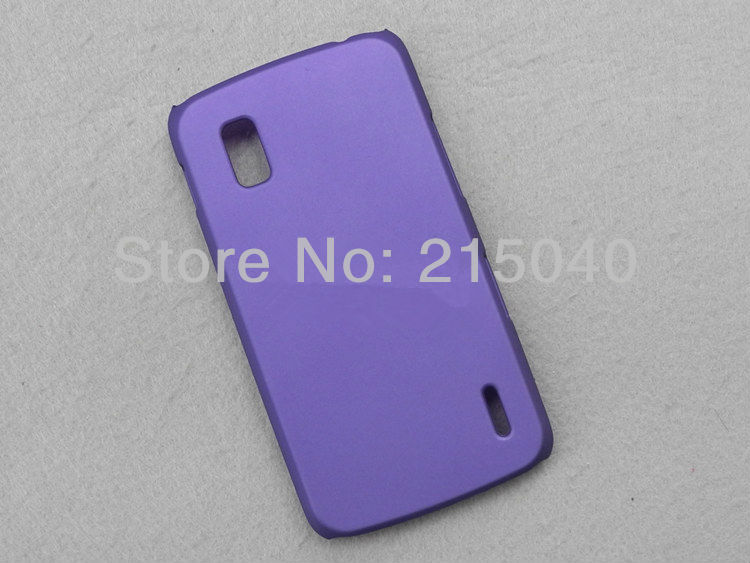 Hard Matte Case for LG E960 Nexus 4 Back Hard Rubber Case, High Quality, LGC-001 (7)