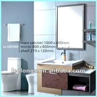 Столик с раковиной Wall Hanging 304 Stainless Steel Bathroom Furniture Vanity Cabinet