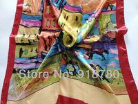 Женский шарф 100% , 90 * 90 ,