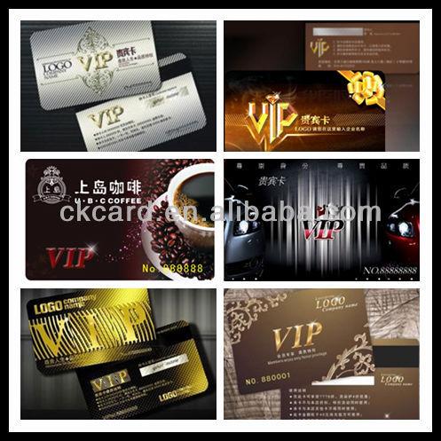 pvc membership card china