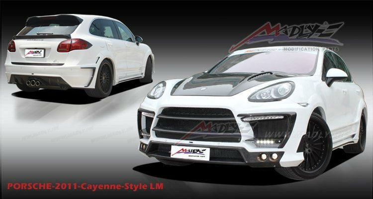 Wide Body kit for Porsche 2012 Cayenne 958 HM Style
