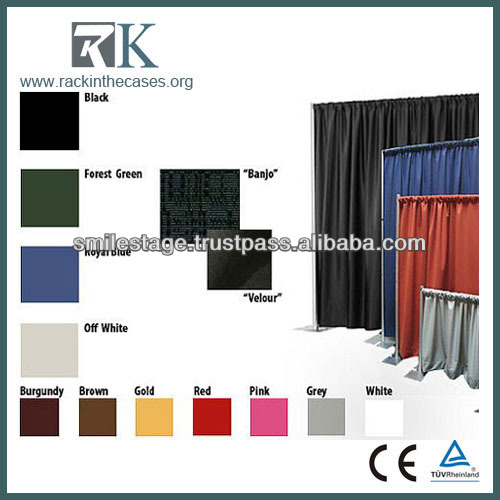 High Quality Portable Pipe Drape System for Photo Video Booth Kiosk