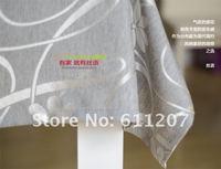 ~ высокое качество 100% полиэстер скатерть скатерть домашний текстиль 138*220см низкой цене
