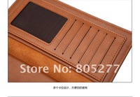 free shipping genuine leather men wallet,4 Colors Available handbag,retail purse