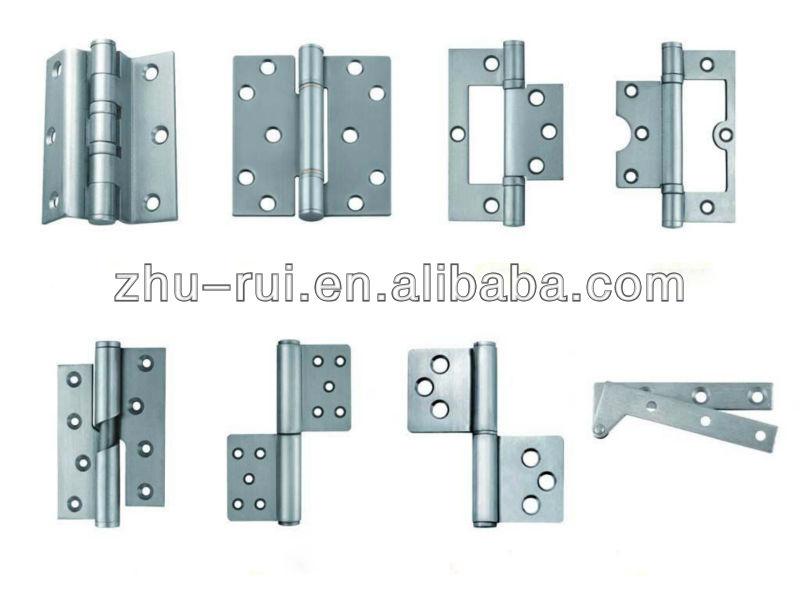Poids l ger argent aluminium charni re pour portes et for Modelos de bisagras