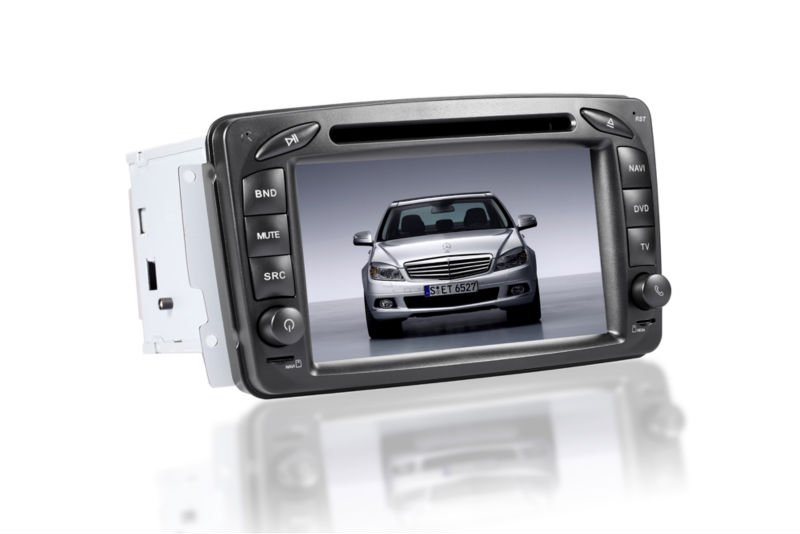 for gmc car dvd player factory touch screen for BENZ W203